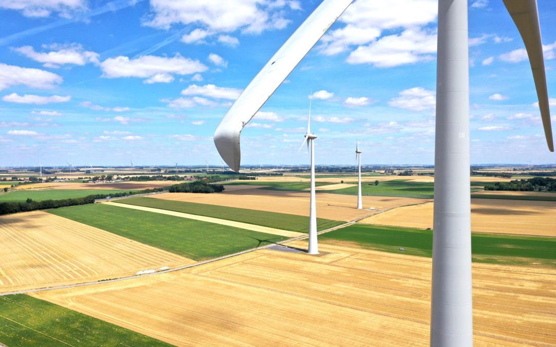 ENERTRAG à la pointe de la technologie avec son nouveau service d'inspection des éoliennes par drone